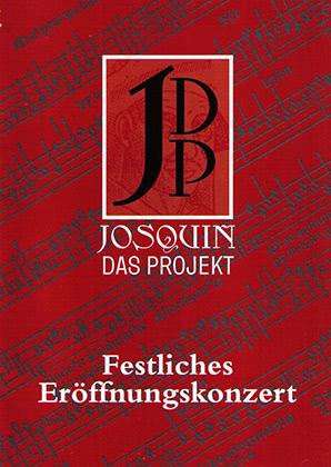 1. Projektkonzert - Festliche Eröffnung | 2004