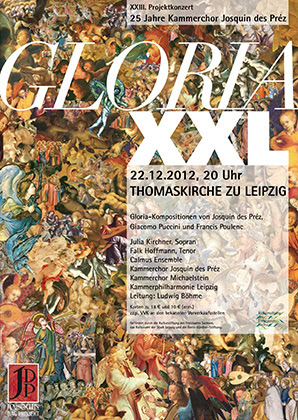 23. Projektkonzert - Gloria XXL | 2012